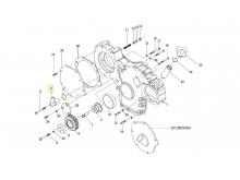 Адаптер сапуна двигателя Deutz TD226B-6/WP6G125E22